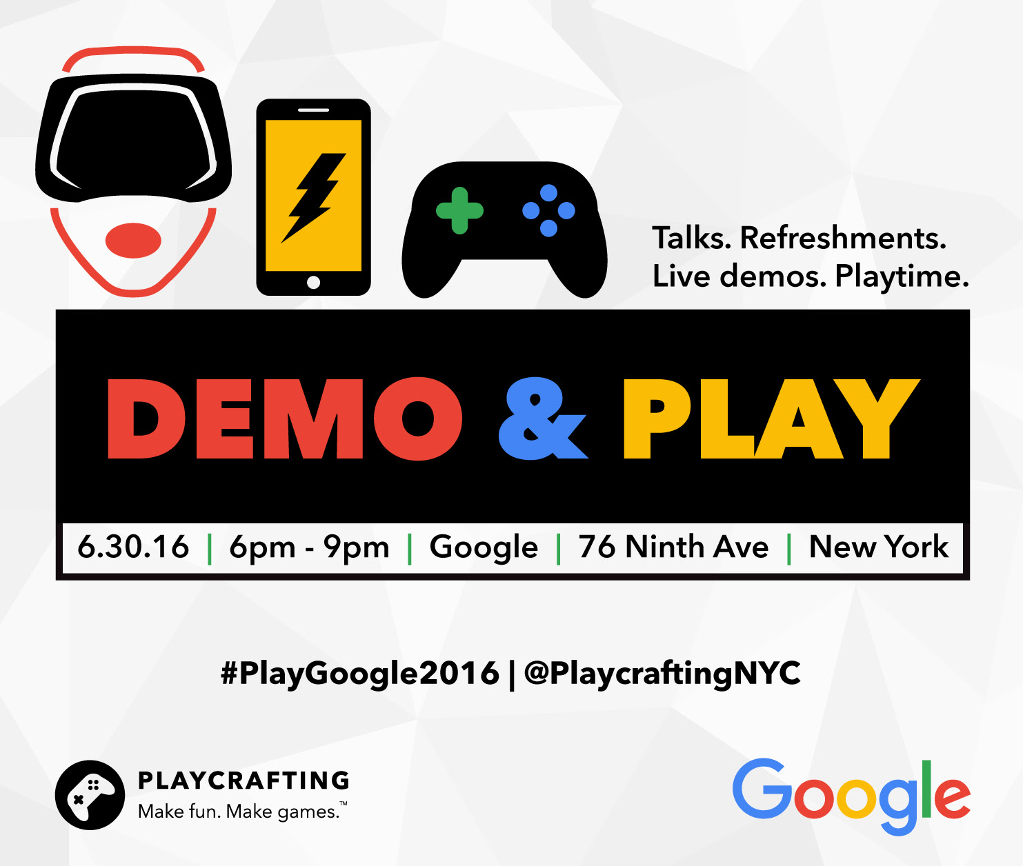 Demo & Play with Google!