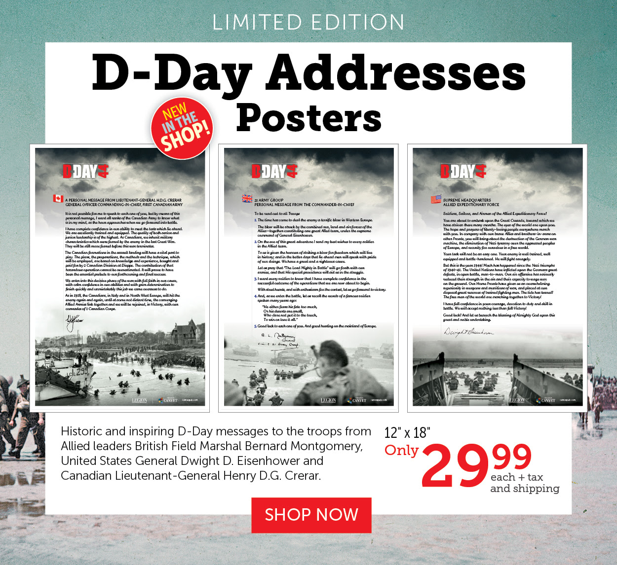 D-Day Addresses