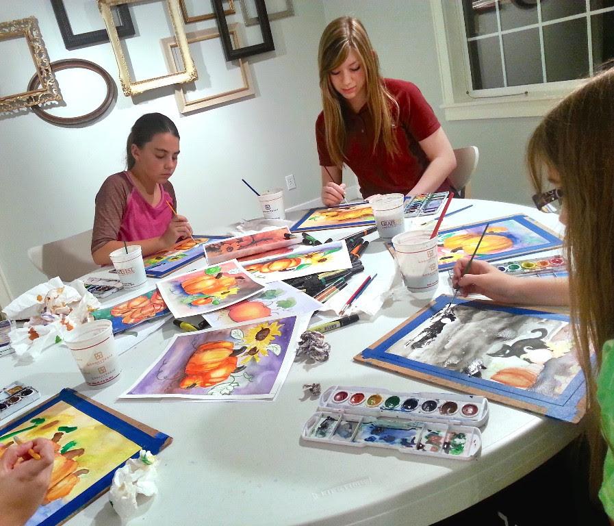 Art Classes For Kids Keller Tx