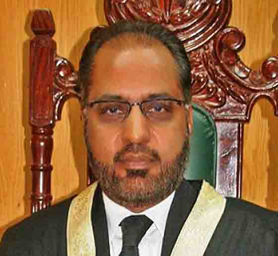 Justice Shaukat Aziz Siddiqui of the Islamabad High Court. (Morning Star News via high court)