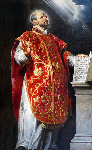 St Ignatius Loyola by Peter Paul Rubens