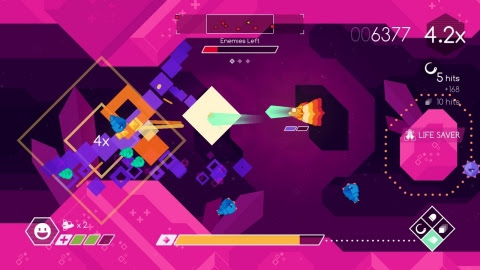Skillfully pilot the Graceful Explosion Machine, a fighter ship armed with a ludicrously overpowered ...