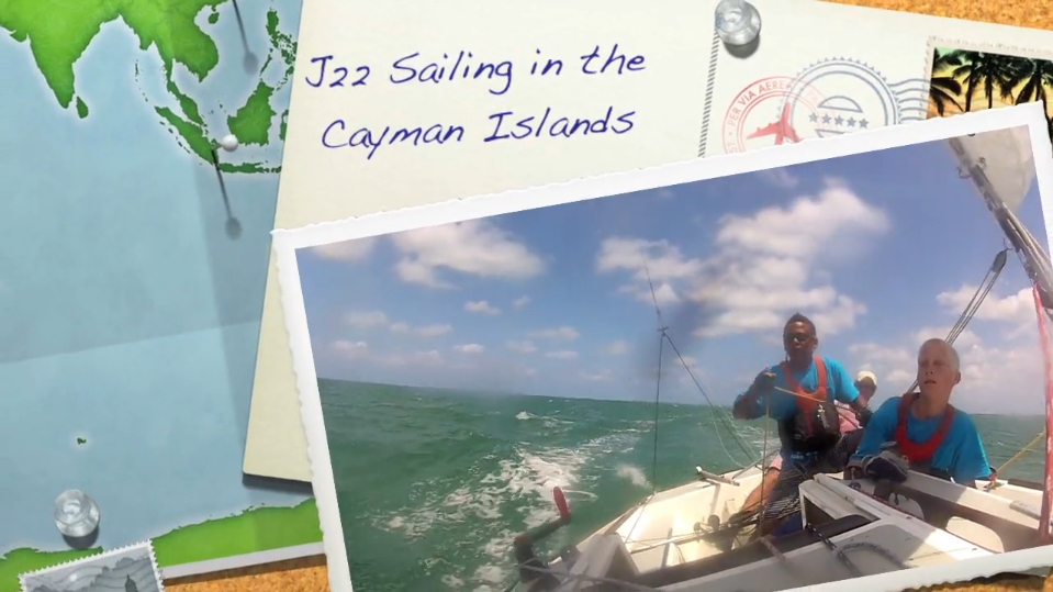 J/22 youth sailing Cayman Islands!