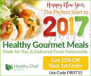 Healthy Chef Creations: 15% on...