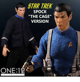 "ONE:12 SPOCK ""THE CAGE"" FIGURE"