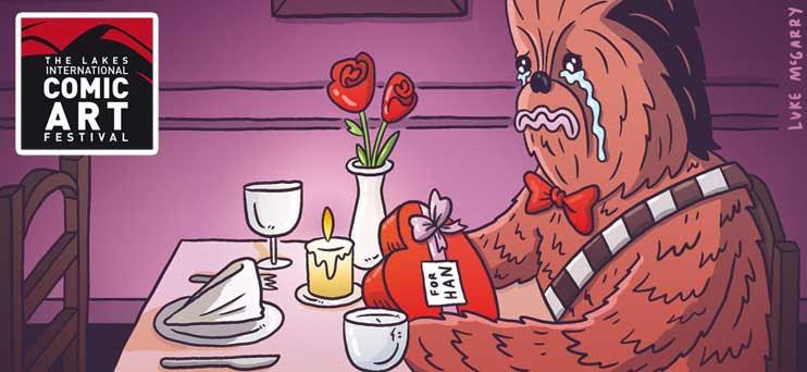 Sad Chewie by Luke McGarry