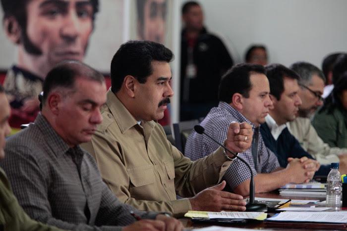 Presidente Maduro en Consejo de Ministros en Miraflores