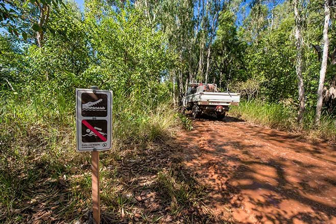 Top End is croc country