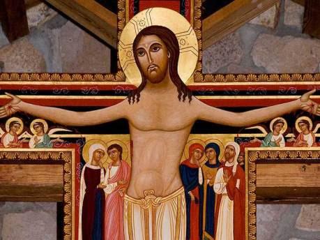 crocifisso di san Damiano