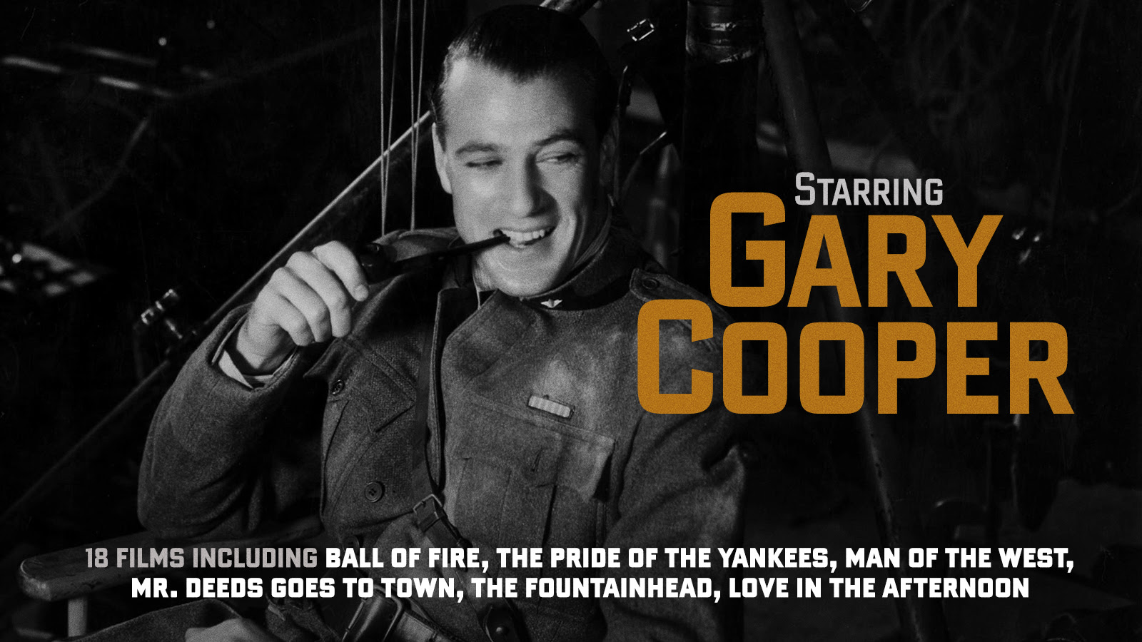 Cooped up with Gary Cooper… Plus: The return of Columbia Noir