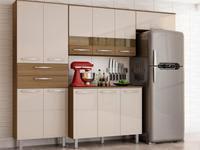 Cozinha Compacta Poliman Mel 8 Portas