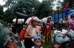 Los jóvenes desplazados por el conflicto en Myanmar pierden el miedo a organizarse