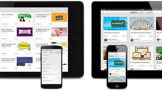 Discover over 12,000 courses and learn on the go! Download Udemy on your Android or iOS today.
