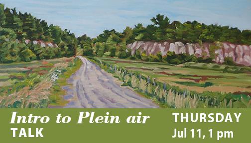 Intro to Plein Air - Talk by Carol Morrison July 11, 2019