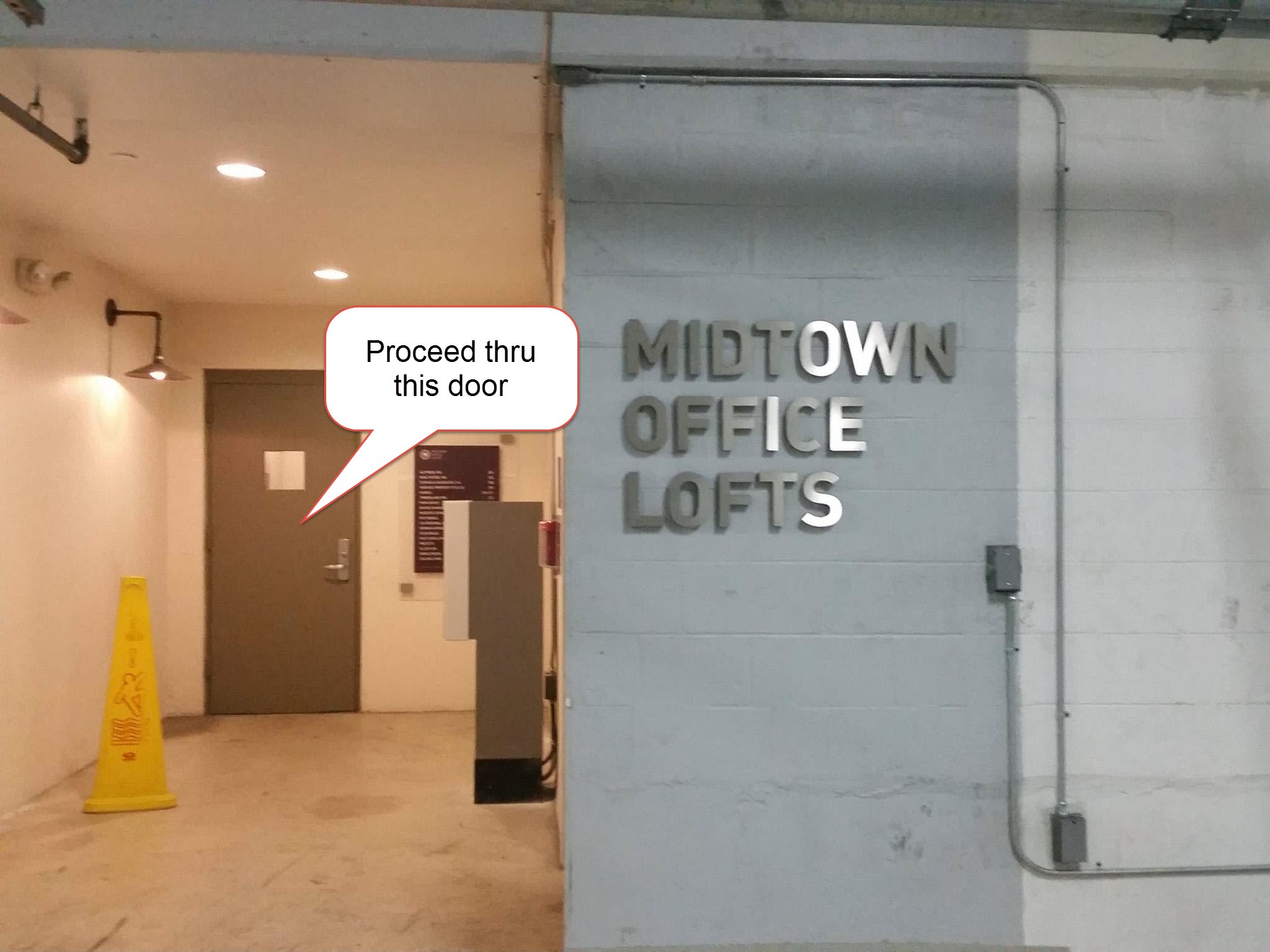 Midtown Entrance Lofts Call Out