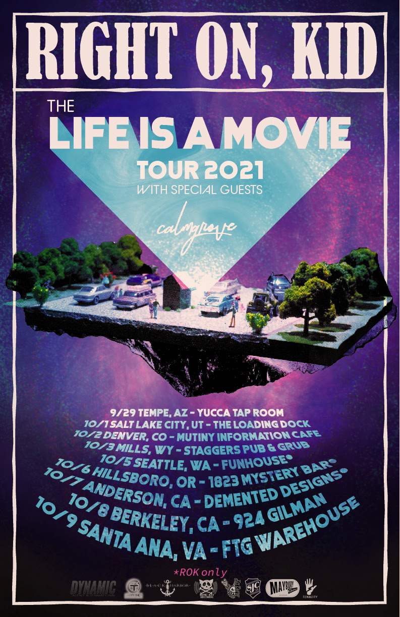 Life Is A Movie Tour Poster- ROK