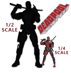 1/2 SCALE DEADPOOL FIGURE
