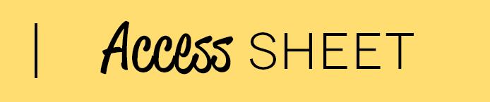 Access sheet