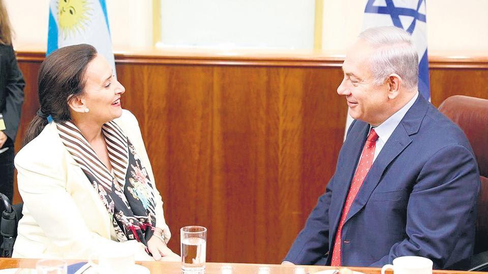 Michetti en Israel