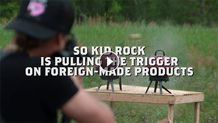 "Introducing Kid Rock's ""American Badass Grill"" (WATCH)"