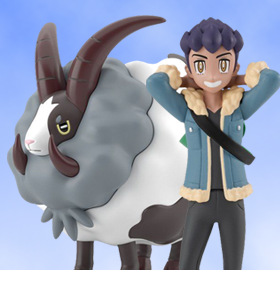 Pokemon Scale World Galar Region Hop & Dubwool Two-Pack