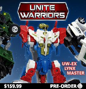UNITE WARRIORS UW-EX LYNX MASTER