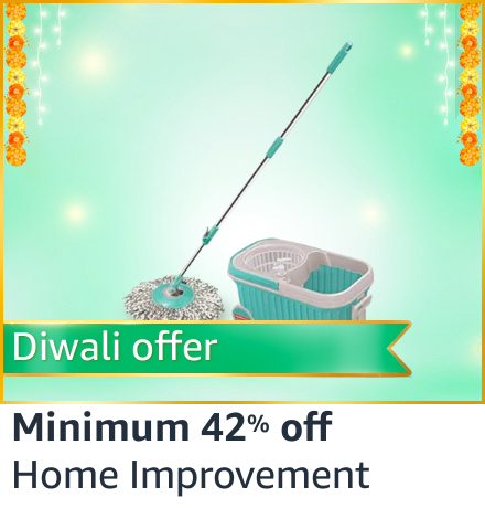 spin mop deals Amazon India