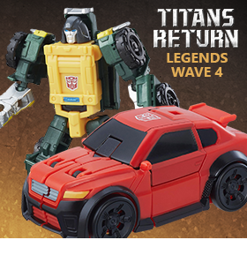 TITANS RETURN LEGENDS WAVE 4