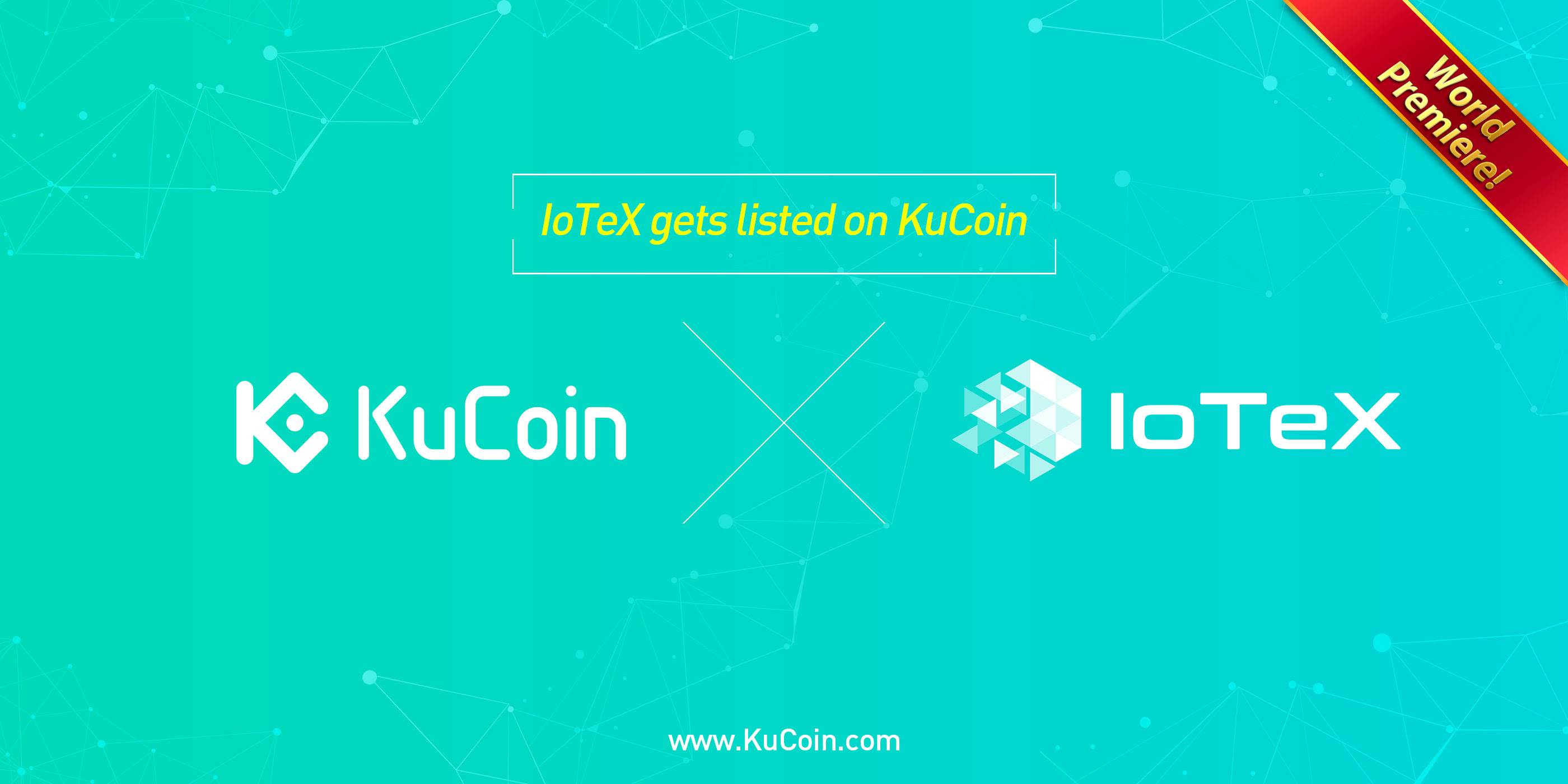 IoTeX (IOTX) Gets Listed On KuCoin