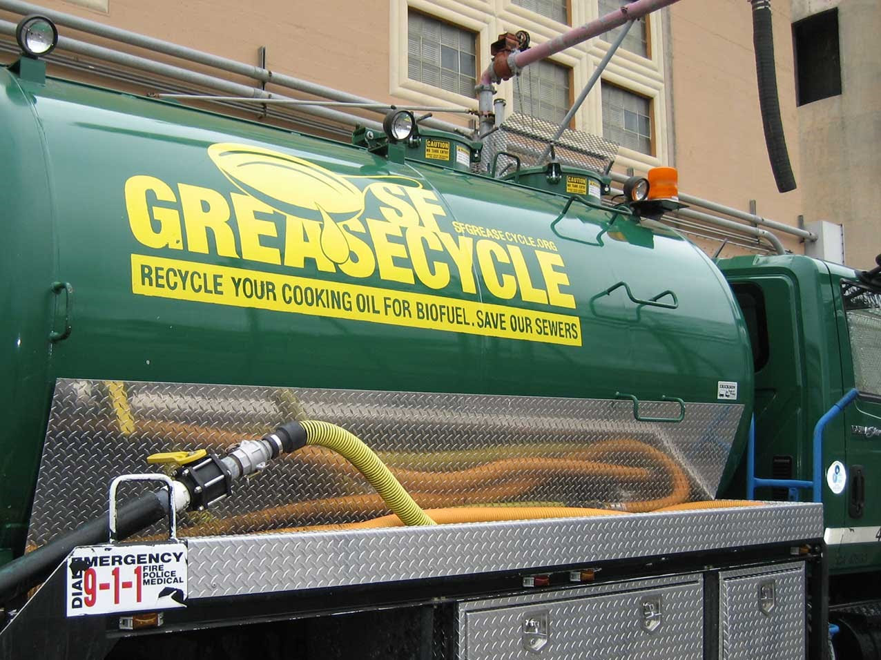 Greasecycle vehicle