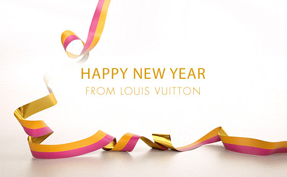 HAPPY NEW YEAR FROM LOUIS VUITTON
