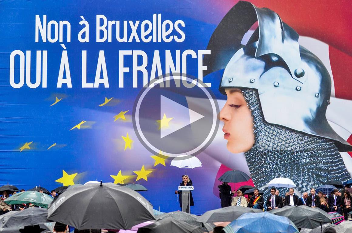 Non à Bruxelles, oui à la France