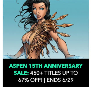 Aspen 15th Anniversary Sale: 450+ Titles: up to 67% off! Sale ends 6/29.