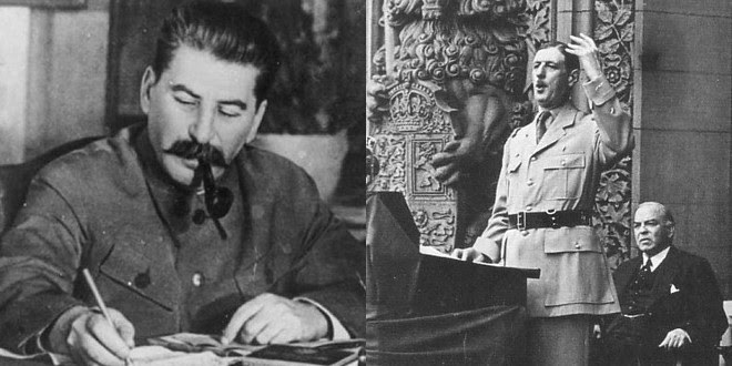 Staline de Gaulle