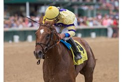 King Zachary wins the Matt Winn Stakes at Churchill Downs