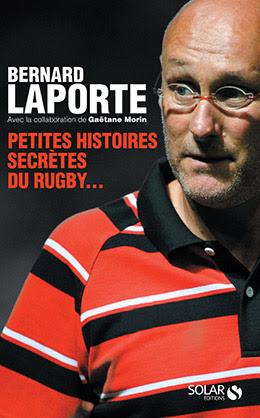Couverture : Petites histoires secrètes du rugby...