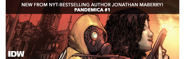 New from NYT-bestselling author Jonathan Maberry! Pandemica #1