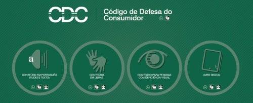 Em vários formatos, o Código de Defesa do Consumidor está acessível para todos