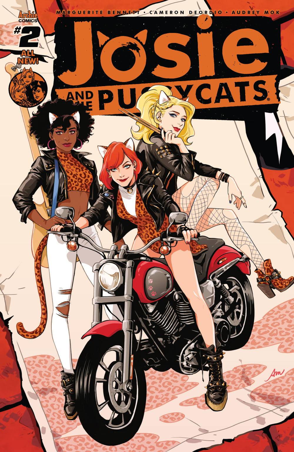 Josie and the Pussycats #2 cover