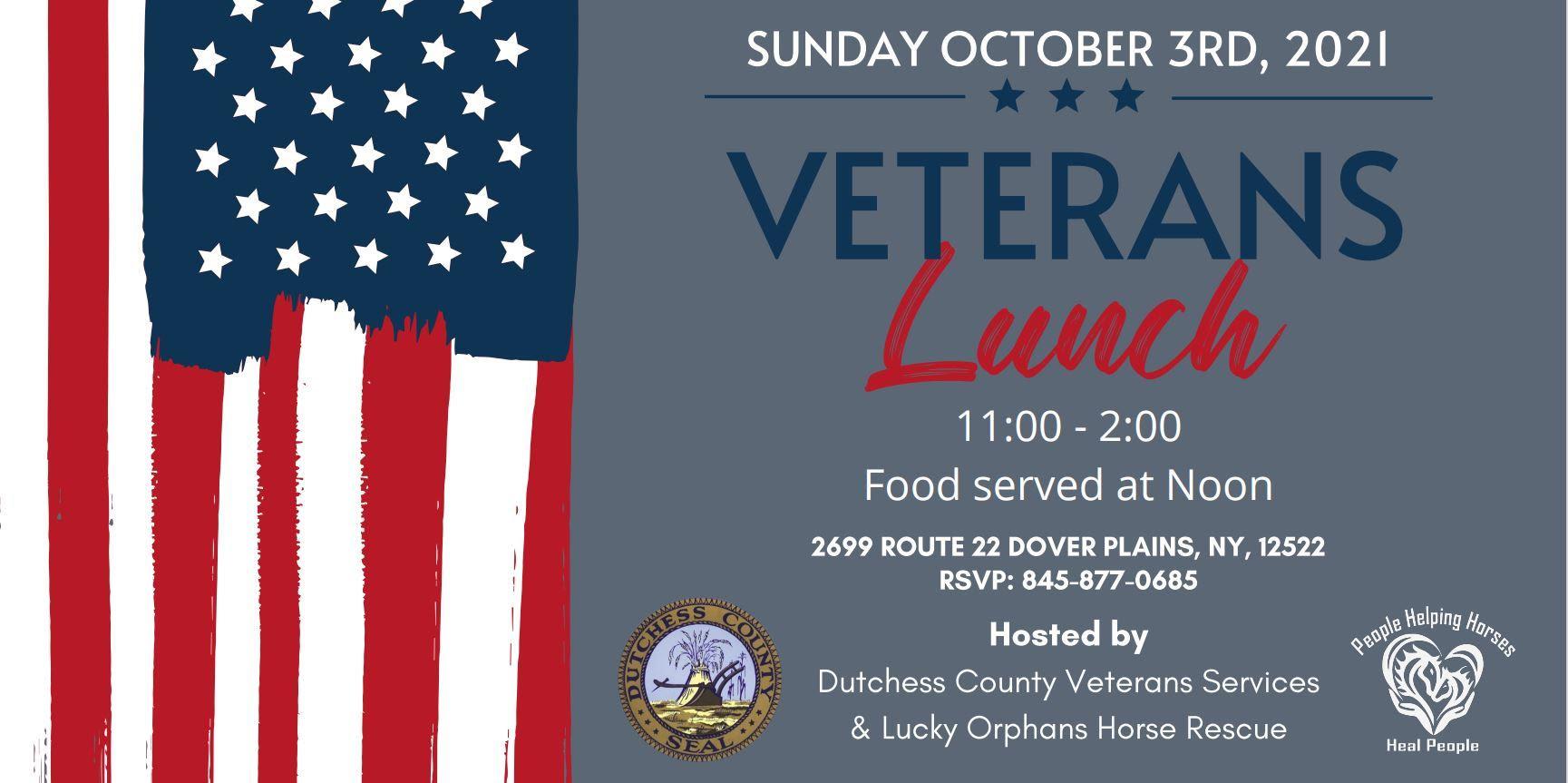 veterans lunch