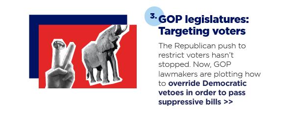 3. GOP legislatures: Targeting voters