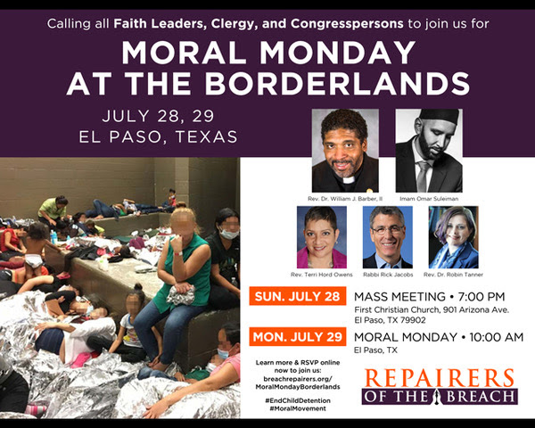 Moral Monday at the Borderlands