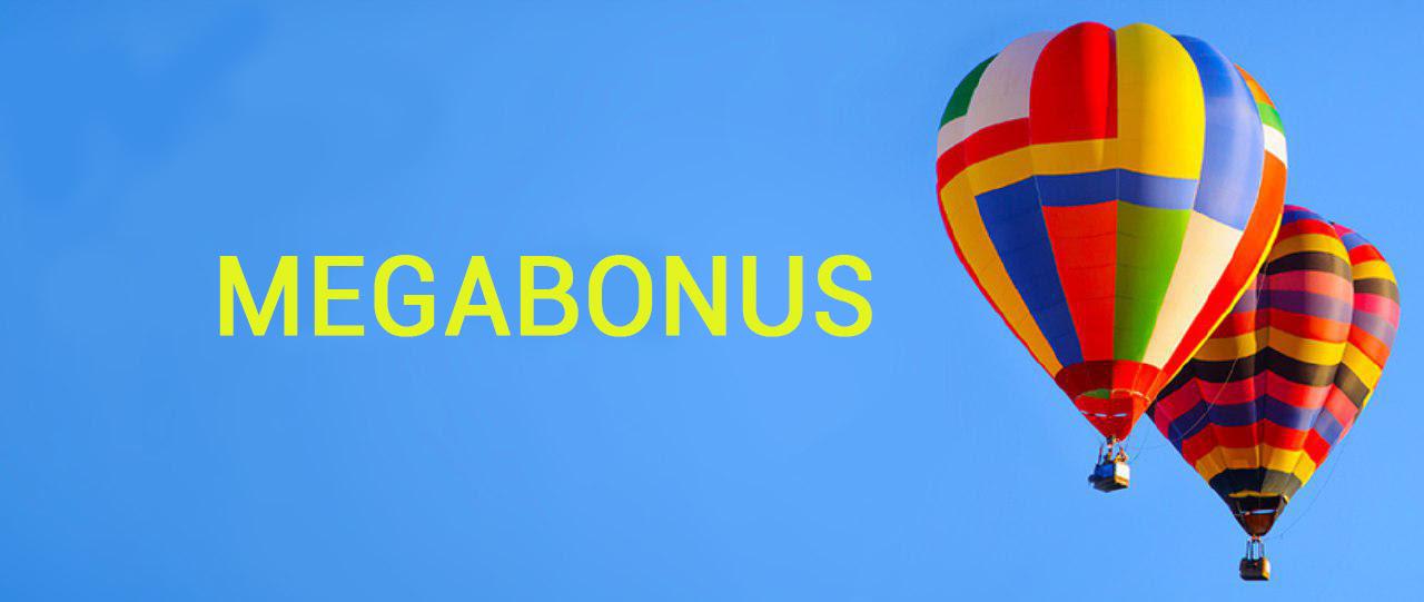 Khuyến mại tiền thưởng BINOMO | MEGABONUS TRONG 05 3