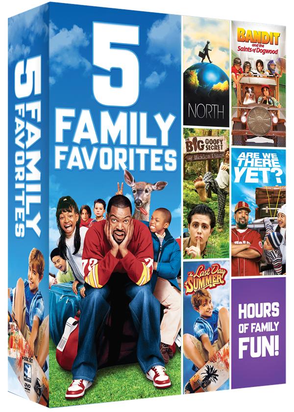 Family Favorites – 5 Movie Bundle