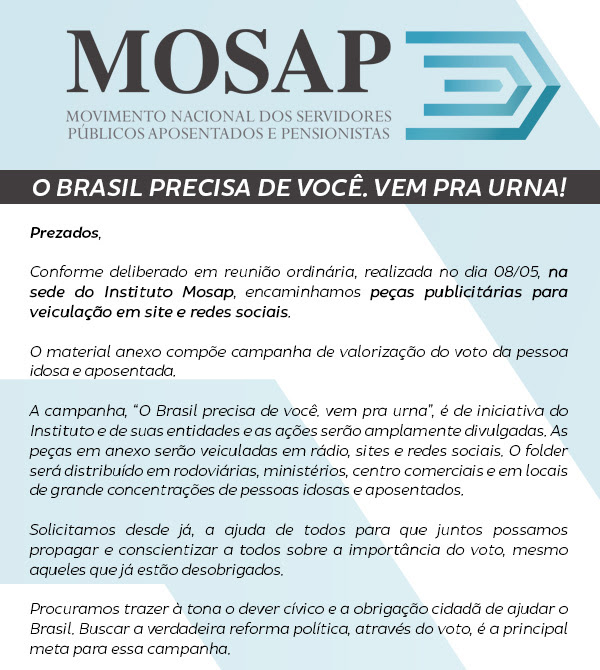 Site do Mosap