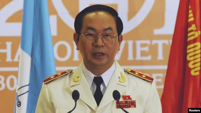 Bộ trưởng Công an Việt Nam Trần Đại Quang có các cuộc gặp với quan chức công an và an ninh Trung Quốc tại cả Việt Nam và Bắc Kinh trong vòng vài ngày.