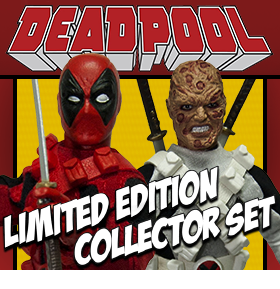 "DEADPOOL 8"" RETRO FIGURE SET"