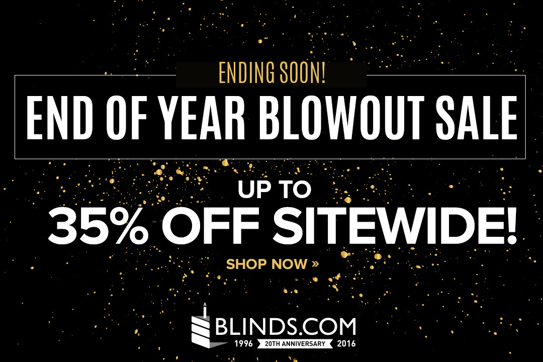 35% off Sitewide at Blinds.com...