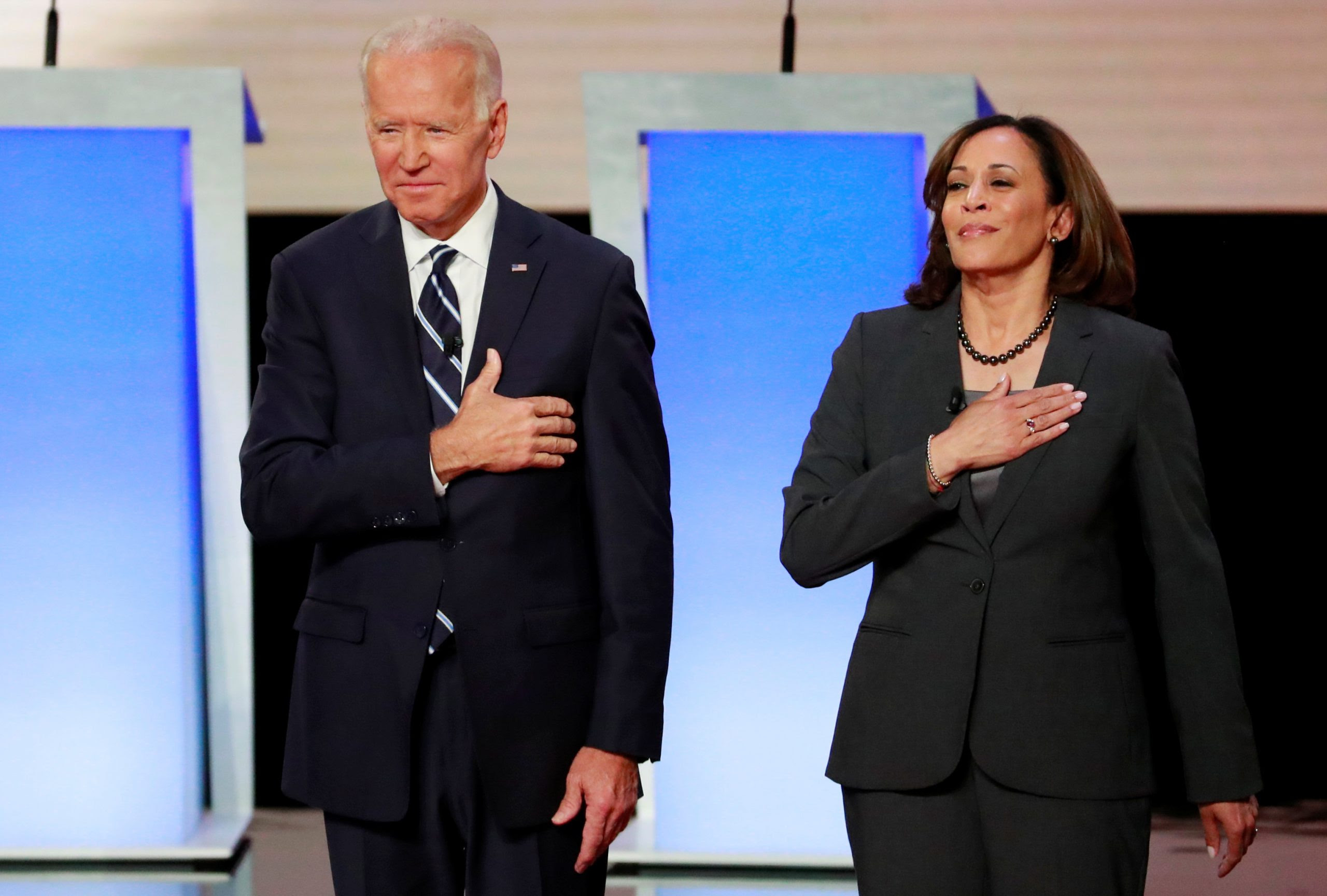One-time rival Senator Kamala Harris backs Joe Biden for president | amNewYork
