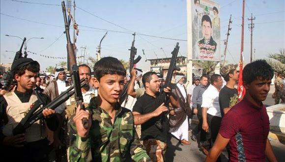 Activistas del grupo radical Estado Islámico de Irak. Foto: EFE (Archivo).
